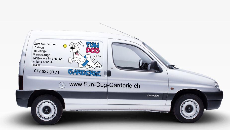 Fun Dog Garderie Ramassage